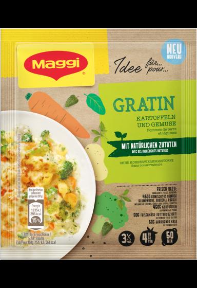 """""""MAGGI MIX NATÜRLICH - Gratin Kartoffeln  und Gemüse"""""""