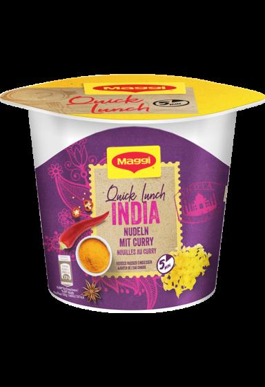 Quick Lunch Around The World - INDIA
